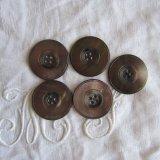 黒蝶貝ボタン36ミリ5個