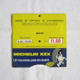 Michelin bib駐車ディスク