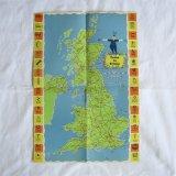 Come to Britain1955年の可愛い地図