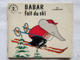 Babar fait du skiミニ絵本<img class='new_mark_img2' src='https://img.shop-pro.jp/img/new/icons13.gif' style='border:none;display:inline;margin:0px;padding:0px;width:auto;' />
