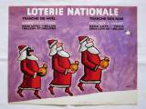 LOTERIE NATIONALE1972ノエル