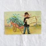天使の郵便やさんポストカード
