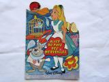 不思議の国のアリスWalt Disneyシルエット絵本