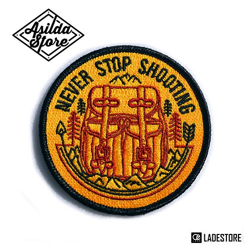 ■ Asilda Store ■ Never Stop Shooting Patch