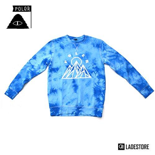 ■POLeR OUTDOOR STUFF ■ Mountain Crew / Tie Dye Blue
