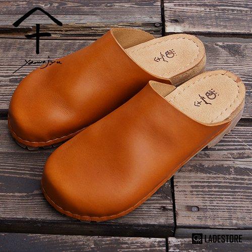 ■ 山十 / Yamajyu ■ LADE 別注製作 Vibram Sole Leather Sandals