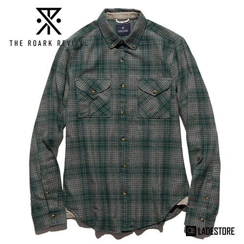 ■Roark Revival■ TUNDRA FLANNEL / GREEN