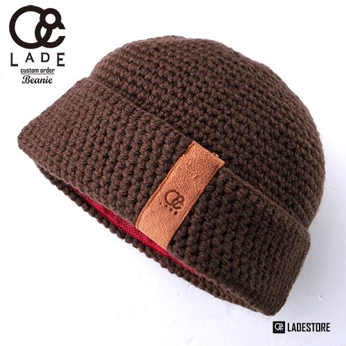 ■LADE COLOR CUSTOM BEANIES■ Cuff Ba...