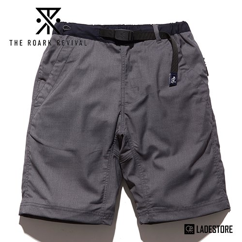 ■Roark Revival■ ROARK x GRAMICCI TRANSIT TRAVEL SHORT / GREY