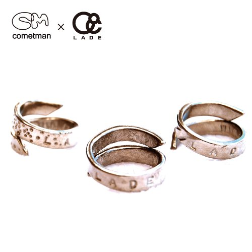 ■Cometman■ Free Size Pewter Ring for LADE