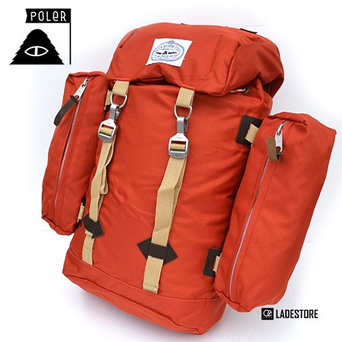 ■POLeR OUTDOOR STUFF ■ The Rucksack / Burnt Orange