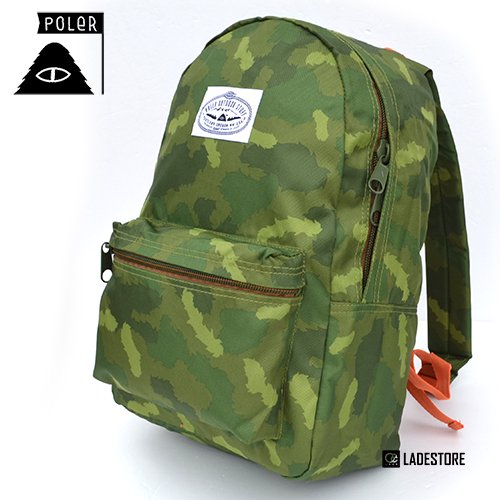 ■POLeR OUTDOOR STUFF ■ Rambler Pack / Green Camo