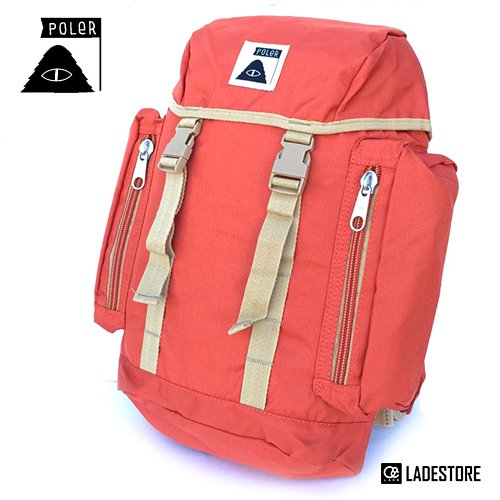 ■POLeR OUTDOOR STUFF ■ Kids Pack / Burnt Orange