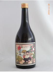 ★熟成させたブランデーベースの梅酒+完熟南高梅!★【河内ワイン】完熟エビス福梅 720ml 15度