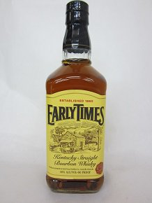 EARLY TIMES アーリータイムズ イエローラベル 700ml  40%