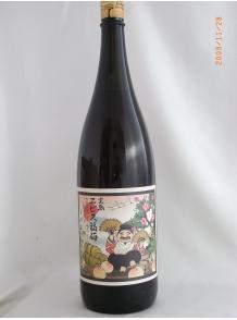 ★熟成させたブランデーベースの梅酒+完熟南高梅!★【河内ワイン】完熟エビス福梅 1.8L 15度