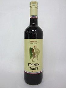 ★鶏料理におすすめのワイン。メルロー100%使用★【フランスワイン】ジネステ フレンチ・ルーツ メルロー 赤  750ml 12.5度