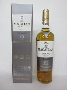 THE MACALLAN FINEOAK 10Y ザ・マッカラン 10年 ファインオーク 正規品 700ml  40度