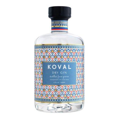 コーヴァル ドライ・ジン Koval Dry Gin  500ml 47%