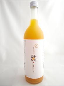 ★五種類の柑橘果汁が豊富!★【中野BC】紀州  和宝五柑 (わほうごかん)〜柑橘の和梅酒〜 720ml 12度