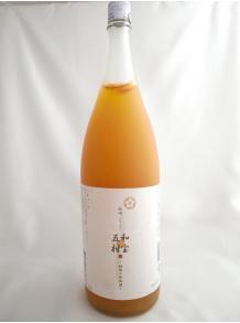 ★五種類の柑橘果汁が豊富!★【中野BC】紀州  和宝五柑 (わほうごかん)〜柑橘の和梅酒〜 1.8L 12度