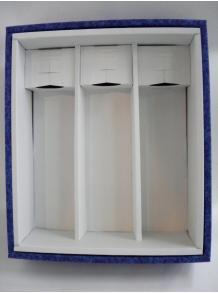 ★お酒と一緒にご注文♪★【ギフト箱】高級フタ式ギフト箱(ブルーまたはベージュ) 720・900ml 3本入れ