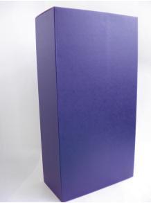 ★お酒と一緒にご注文してください♪★【ギフト箱】高級ギフト箱 濃紺(ワンタッチ式) 1.8L 2本用