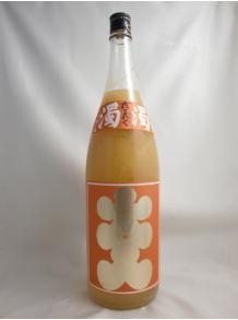 ★果実味満載!大人気の柚子酒♪★【西山酒造場】大入り にごり柚子酒 濁濁(だくだく)1.8L 8度