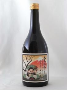 ★幸せ度100%の梅酒!★【河内ワイン】大黒福梅 黒糖仕込み 720ml 12.4度