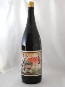 ★幸せ度100%の梅酒!★【河内ワイン】大黒福梅 黒糖仕込み 1.8L 12.4度