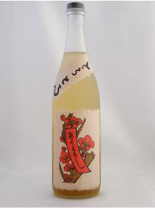 ★濃密でジューシーな甘み、華やかな香り★【八木酒造】赤短のとろとろ梅酒 720ml