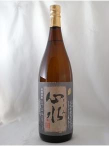 ★うす濁りのまま瓶詰したぜいたくな逸品!★【松露酒造】心水(もとみ) 1.8L 25度