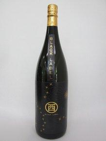 ◇新ラベル BLACK LABEL◇★3年熟成の黒麹古酒!限定1500本のみ★【丸西酒造】丸西 黒古酒 1.8L 25度