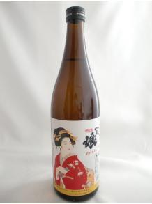 ★美人画ラベルが有名♪★【山中酒造】本醸造 一人娘 720ml 15.5度