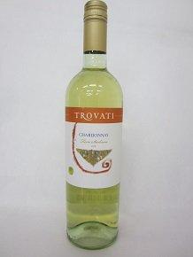 ★シチリア産のシャルドネ100%。★【イタリアワイン】トロヴァティ シャルドネ 750ml 12.5度