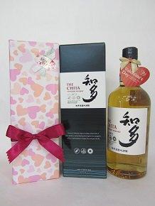 ♡2019 バレンタイン♡【サントリー】なめらかで心地よい余韻の新ウイスキー知多 43度 700mlのギフト(箱・包装代込)