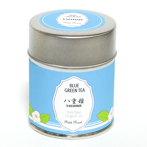 【バラの花が香る青い緑茶】八重姫(やえひめ) [水出し緑茶]