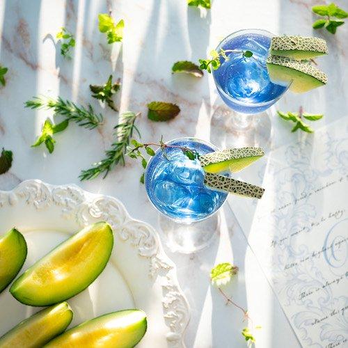 【メロンが香る青い緑茶】ひなた{水出し緑茶}