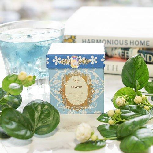 【ジャスミンが香る青い緑茶】みこと美琴[水出し緑茶]