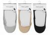 【★代引不可】【P袋】卸@¥110/レディース用靴下22-24cm「浅履きフットカバー(かかと靴ズレ防止)」12足セット
