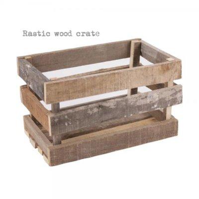 ビンテージパレットウッドクレート/木箱・ボックス