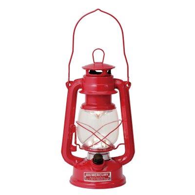 Mercuryマーキュリー LEDランプ ハリケーンランタン レッド