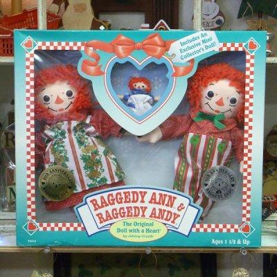 ヴィンテージ アン&アンディドール(人形)セット 75thアン 80thアンディ クリスマス Hasbro社製