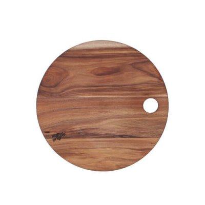 DULTON(ダルトン) アカシヤ カッティングボード(まな板) ラウンド 天然木