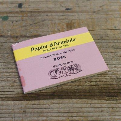 Papier d'Armenie(パピエダルメニイ) ペーパーンセンス/お香 ローズ