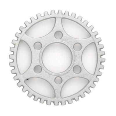 アイアン トリベット/鍋敷き ギア 歯車 シルバー メール便可