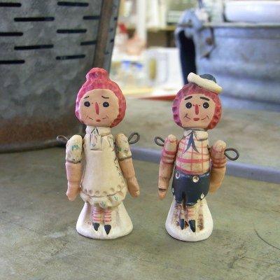 アン&アンディ ミニフィギア 2個セット