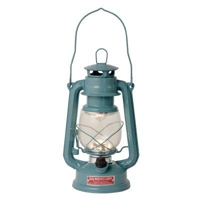 Mercury マーキュリー LED ハリケーンランタン ランプ ブルー