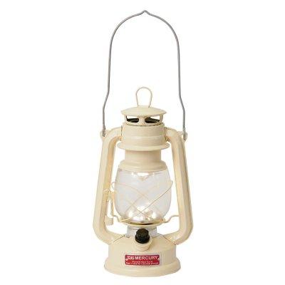 Mercury マーキュリー LED ハリケーンランタン ランプ アイボリー
