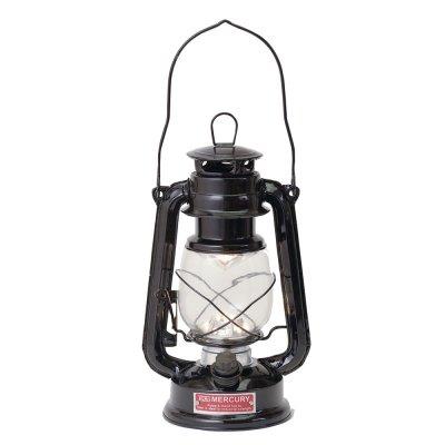 Mercury(マーキュリー) ハリケーンランタン LEDランプ ブラック